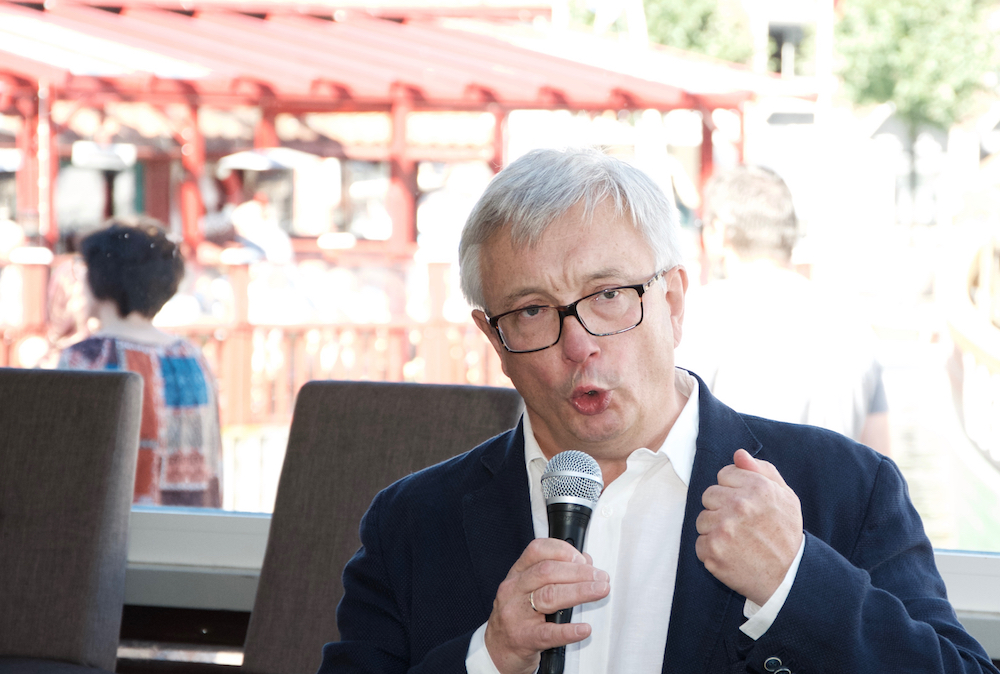 Karl Eirik Schjøtt-Pedersen, CEO at the Norwegian Oil and Gas Association presented the new road map for NCS at Arendalsuka.