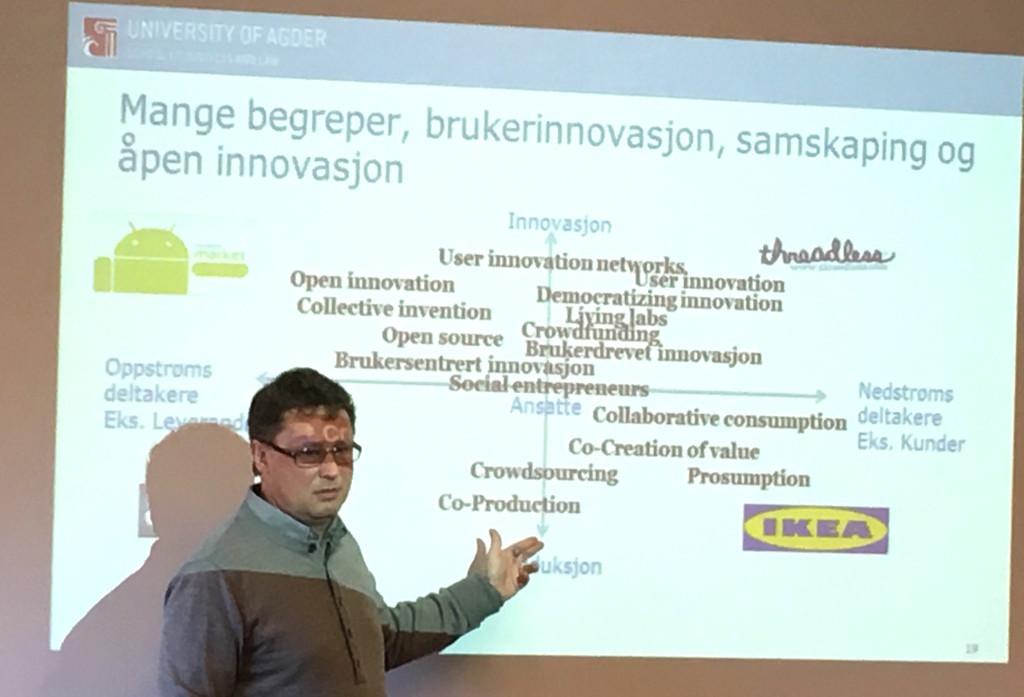 Tor Helge Aas, Associate Professor, PhD at the University of Agder.