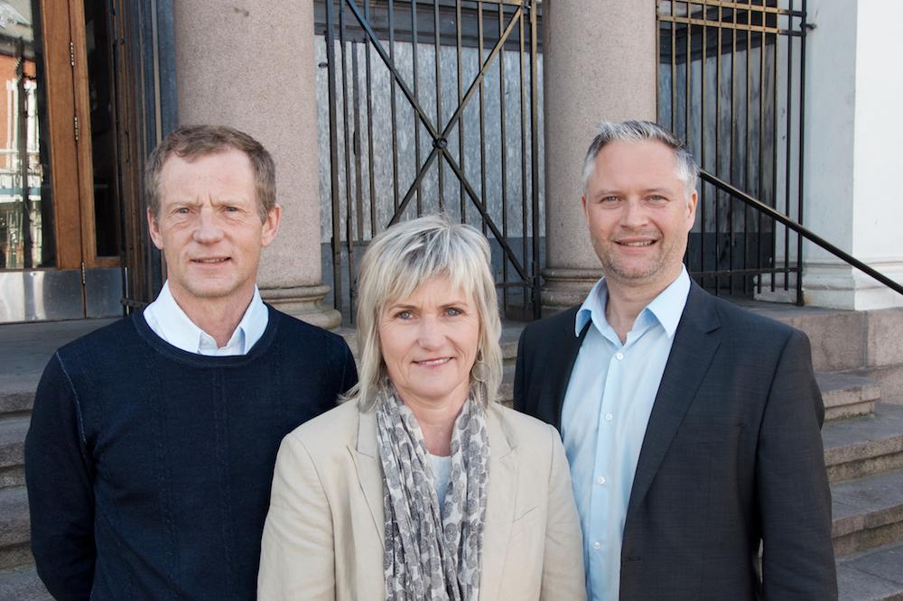 The new GCE NODE Election Committee:Rune Fredriksen (Mandal Maskinering),Elin Vatne (Boss Industrier) andMorten Martens Breivik (Telenor Maritime).
