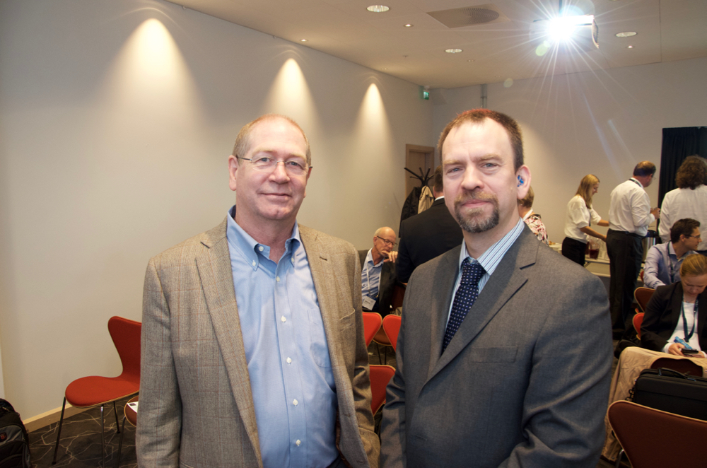 John Macpherson, Senior Technical Advisor Drilling Systems at Baker Hughes and Noroff Professor Iain Sutherland gave presentations at the Nortex Breakfast seminar at ONS Wednesday.