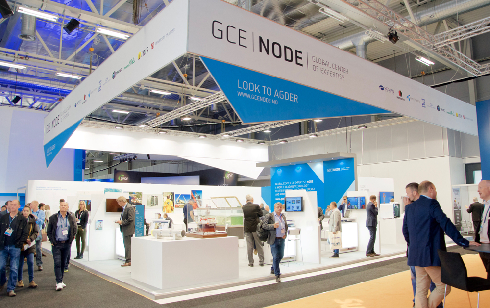 GCE NODE's stand at ONS 2016.